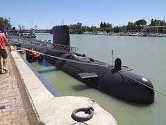 SUBMARINO S-74 TRAMONTANA (SPANISH NAVY) (DAGM4) Tags: difas2019 españa sevilla spain espanha europa europe military espana militar espagne spanien espagna espainia espanya submarino armadaespañola spanishnavy tramontana s74 laarmada armadaespanhola armadaespagnole submarinos74tramontana andalucía 2019 ríoguadalquivir