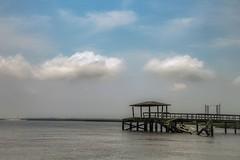 St. Simons Old Pier (deblam1005(BLESSED)) Tags: rustic old marsh river water pier island stsimonisland ocean atlanticocean