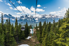 154/365 Coming Down (belincs) Tags: oneaday landscape travel 365 mountains gondola canada vacation 2019 lakelouise rockies 365the2019edition 3652019 day154365 03jun19 banffnationalpark