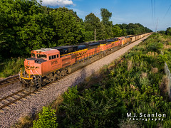 BNSF 9115 | EMD SD70ACe | BNSF Birmingham Subdivision (M.J. Scanlon) Tags: digital landscape commerce engine cargo business locomotive freight logistics horsepower drone emd dpu dji bnsfrailway loadedcoal bnsf9847 cnampam jhmx bnsf9115 bnsf9258 bnsfbirminghamsubdivision bnsfcnampam cnampam028a railroad train mississippi track outdoor transport rail railway trains move transportation merchandise mojo scanlon railfan railfanning olivebranch railroader sd70ace quadcopter mavic2zoom mavic2 millercoal ©mjscanlon ©mjscanlonphotography