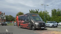 Short demonstration (2) (Efan Thomas Bus Spotting Photography) Tags: llew jones was mercedes benz strata demonstrator lk68ztc