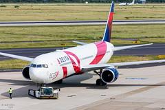 Delta Air Lines (ab-planepictures) Tags: delta air lines boeing 767 dus eddl düsseldorf bcrf flugzeug flughafen airport aviation planespotting