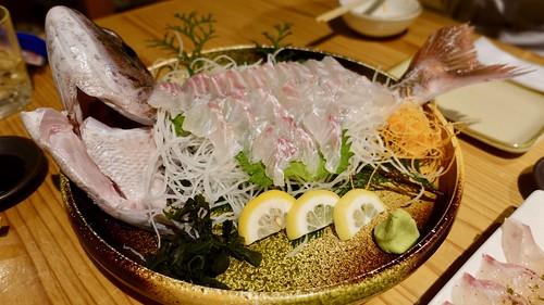 鯛 sashimi sea bream ¥2380