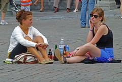 Picnic sur la Grand'Place de Bruxelles !? (caramoul25) Tags: bruxelles brussels picnic déjeuner grandplace bonappétit caramoul25