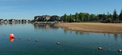 Cottage Country YYC (Mr. Happy Face - Peace :)) Tags: cowtown cottage lakeside spring canada cans2s h2o rr sky cloud sand bouy boat wtbw art2019