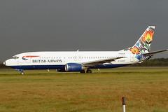 Boeing 737 G-DOCF British Airways - Edinburgh Airport 14/10/2002 (robert_pittuck) Tags: boeing 737 gdocf british airways edinburgh airport 14102002