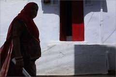 loud, udaipur (nevil zaveri (thank you for 15+ million views:)) Tags: zaveri india udaipur rajasthan street photography photographer images photos blog stockimages photograph photographs nevil nevilzaveri stock photo culture people woman women door sunlight sunlit shadows exterior architecture