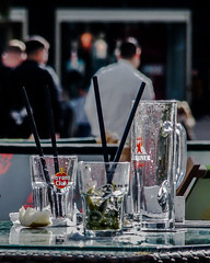 Happy Hour (Verena Dahms) Tags: drink glas outdoor berlin alexanderplatz