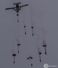 Parachute Display Team (udaloy) Tags: raffalcons royalairforce parachutist parachute shorts skyvan sc7 cfara raf military britishmilitary charliekirkpatrick ayrshire aircraft airplane aviation uk unitedkingdom scotland aeroplane aeronautical ayr