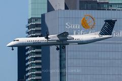 C-GLQF (rcspotting) Tags: cglqf bombardier dash 8 q400 porter airlines ytz yytz