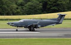 U28  50597 (TF102A) Tags: aviation aircraft airplane prestwick prestwickairport usaf usairforce u28 50597
