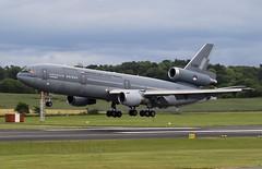DC10  T-264 (TF102A) Tags: aviation aircraft airplane prestwick prestwickairport dc10 t264 dutchairforce netherlandsairforce