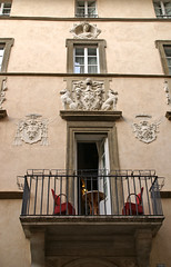 Roma, Via Giulia, Palazzetto di Paolo III. (HEN-Magonza) Tags: rom roma rome italien italy italia viagiulia palazzettodipaoloiii rioneregola