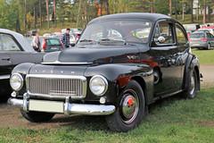 1960 Volvo PV 544 (crusaderstgeorge) Tags: crusaderstgeorge classiccars cars chrome carmeet 1960volvopv544 1960 volvo pv 544 högbo sweden sverige swedenclassiccars blackcars