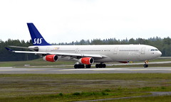SAS LN-RKP ,OSL ENGM Gardermoen (Inger Bjørndal Foss) Tags: lnrkp sas scandinavian airbus a330 osl engm gardermoen