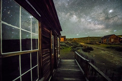 Milky Way Window Reflection (Jeff Sullivan (www.JeffSullivanPhotography.com)) Tags: milky way bodie state historic park conway house bodiestatehistoricpark abandoned american wild west mining ghost town monocounty bridgeport california usa landscape nature night photography travel nikon d850 nikkor 1424mm lens photo copyright 2019 jeffsullivan june allrightsreserved nikonnofilter