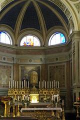 Rom, Via Giulia, Chiesa dello Spirito Santo dei Napoletani, Hochaltar (high altar) (HEN-Magonza) Tags: rom roma rome italien italy italia viagiulia chiesadellospiritosantodeinapoletani altar rioneregola