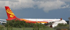 F-WWCY 1865  (B-LHG) Airbus A330-343 Hong Kong Airlines stored at Chateauroux (kitmasterbloke) Tags: airbus hongkongairlines chateauroux airliner jet outdoor