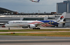 9M-MAF (ianossy) Tags: airbus a350941 a359 lhr egll 9mmaf malaysiaairlines