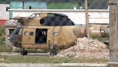 F-MDAU SA330 Puma Camp Des Garrigues 240519 (kitmasterbloke) Tags: sa330 puma helicopter wreck military armeedeterre france garrigues nimes training