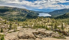 View of Donner Lake from Donner Pass Road in Truckee, California (lhboudreau) Tags: