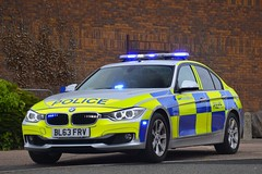 BL63 FRV (S11 AUN) Tags: leicestershire police bmw 330d 3series saloon anpr traffic car rpu roads policing unit 999 emergency vehicle emopss eastmidlandsoperationalsupportservices bl63frv