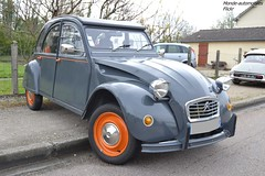 Citroën 2cv (Monde-Auto Passion Photos) Tags: voiture vehicule auto automobile citroën 2cv deuche deudeuche gris grey ancienne classique collection rassemblement france courtenay