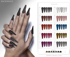 Black Fair | June 13th (Kah Melody | ASCENDANT) Tags: black fair ascendant nails maitreya slink belleza bento legacy