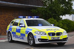 FN63 GBF (S11 AUN) Tags: leicestershire leics police bmw 530d 5series touring anpr traffic car rpu roads policing unit 999 emergency vehicle fn63gbf