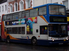Stagecoach TransBus Trident (TransBus ALX400) 18101 KX04 RDY (Alex S. Transport Photography) Tags: bus outdoor road vehicle stagecoach stagecoachmidlandred stagecoachmidlands alx400 alexanderalx400 dennistrident transbustrident trident transbusalx400 route55 18101 kx04rdy