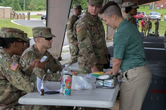 5th Regiment Arrival (armyrotcpao) Tags: 5thregiment advancedcamp arrival cst2019 cadets rotc usarmy