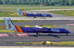 de-Havilland (Canada) DHC-8-402 G-JECM Flybe (EI-DTG) Tags: dusseldorfairport dus 14may2019 flybe gjecm dash8 bombardier