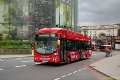 LK60HPL Tower Transit WSH62994 (theroumynante) Tags: lk60hpl tower transit wsh62994 vdl sb200 wrightbus pulsar 2 119m waterloo bus buses singledeck lowfloor road transport rv1 towertransit hydrogen