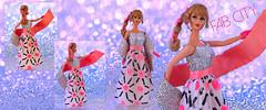 FAB CITY (ModBarbieLover) Tags: fab city 1969 mod barbie mattel fashion toy vintage eveningwear silver pink doll