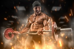 Health risks of using bodybuilding supplements (authorityweightloss) Tags: diet beautiful malebeauty men bicep abdominalmuscle adult exploding pickingup exercising backgrounds caucasianethnicity strength action success sport lifestyles bodybuilding torso muscularbuild firenaturalphenomenon dumbbell
