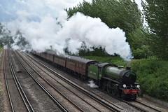 "61306 ""Mayflower""   Cathedrals Express Railtour (JD Railway Photography) Tags: mayflower 61306 cathedrals express railtour steam train class 47 47245"