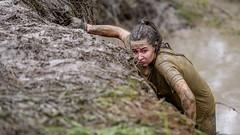Difficult climb \ Трудный подъём (Nitohap) Tags: экстрим девушка вода спорт грязь бег extreme girl water sport dirt run d850 70200 омск стальнойхарактер