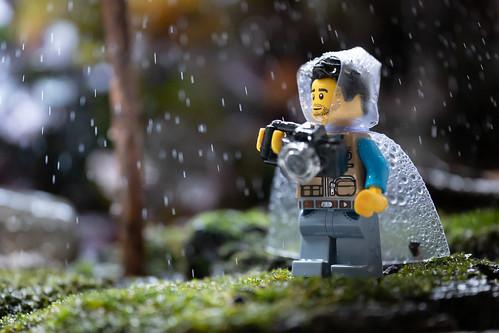 Rain doesn't stop a photographer