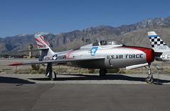 Republic R-84F (John W Olafson) Tags: republicr84f usaf jet fighter