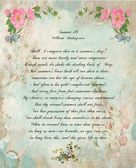Page 18 (No Talent Bum) Tags: shakespeare poems roses scrapbooking papercrafts