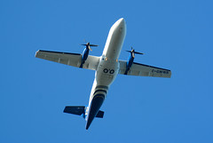 La Ronge 11June19.02 (Pervez 183A) Tags: atr42 westwind laronge airliner turboprop cgwwr cyvc