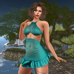 Fugar (Algezares (III)) Tags: kaithleens fameshed forest top skirt simmer secondlife sexy sensual maitreya mesh makeup genus gingerfish poses ebento ebentotheevent