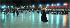 nocturne au mausolée de Shâh Tcherâgh ! (Save planet Earth !) Tags: iran shiraz travel voyage amcc nikon mausolée nocturne
