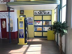 The Power House Museum (Patrice Roe) Tags: route66 motherroad roadtrip historic kingman arizona museum cocacola vintage texaco burmashave roadsideattraction gasstation powerhouse railroad