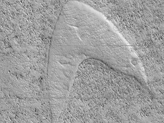 Dune Footprints in Hellas (UAHiRISE (NASA)) Tags: mars nasa mro jpl lpl ua universityofarizona science astronomy geology