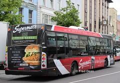Bus Eireann SL22 (09C252). (Fred Dean Jnr) Tags: buseireannroute208 cork buseireann scania omnilink sl22 09c252 june2019 alloverad supermacs stpatricksstreetcork bus ck230ub