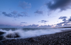 In the Morning (lichtschacht-kiel) Tags: nordsee northsea meer sea denmark dänemark bovbjerg fuji seascape