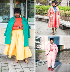 14 Plus Size Fashion Bloggers You Should Know (Georgette of Grown and Curvy Woman) (Not Dressed As Lamb) Tags: plus size bloggers fashion blogger style ootd outfit outfits