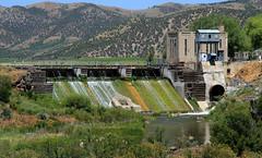 Old Grace Dam 4 (arbyreed) Tags: arbyreed dam oldgracedam utahpowerandlight pacificcorp electricpowerdam infrastructure electric electricpowergrid hydropower water irrigation graceidaho cariboucountyidaho