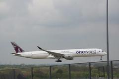 A7-ANE Qatar A350-1000 (Vernon Harvey) Tags: a7ane airbus a350 qatar oneworld london heathrow lhr